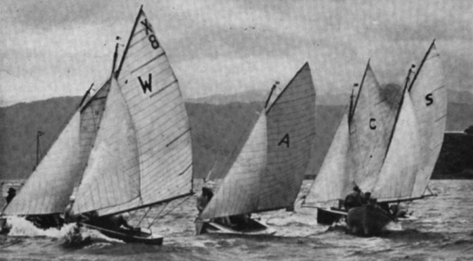X-Classes racing for the Sanders Cup